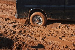 Truck Stuck In The Mud