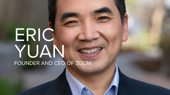 Eric Yuan CEO and Founder Of Zoom