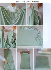 7 Images How To Fold A Fitted Sheet